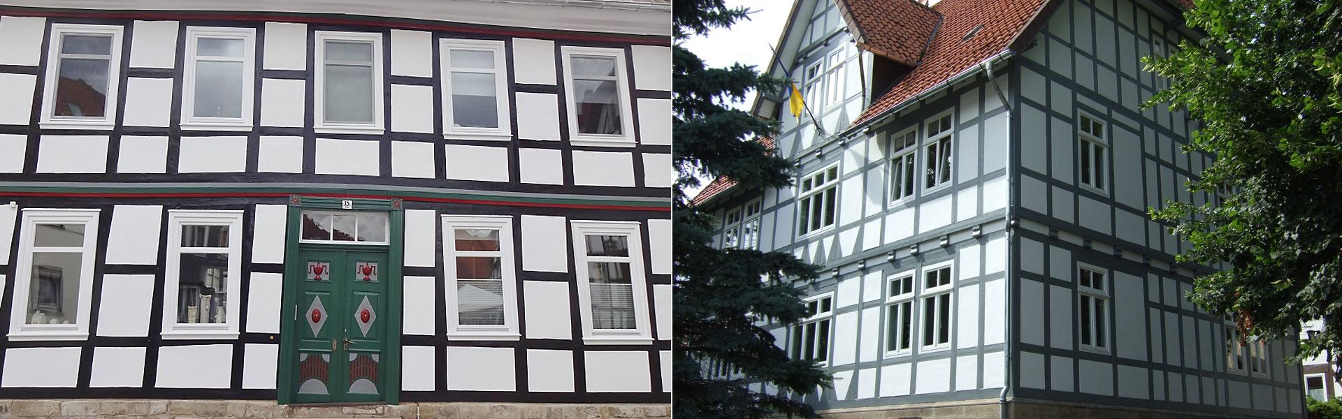 Fachwerk-Restaurierung in Bad Gandersheim und Umgebung, Seesen, Kreiensen, Kalefeld, Lamspringe, Einbeck, Northeim.