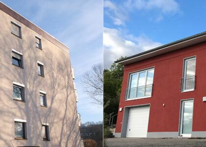 Fassadensanierung und Fassadenrenovierung in Bad Gandersheim und Umgebung, Seesen, Kreiensen, Kalefeld, Lamspringe, Einbeck, Northeim.