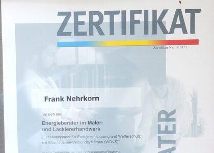 Malermeister Frank Nehrkorn Bad Gandersheim