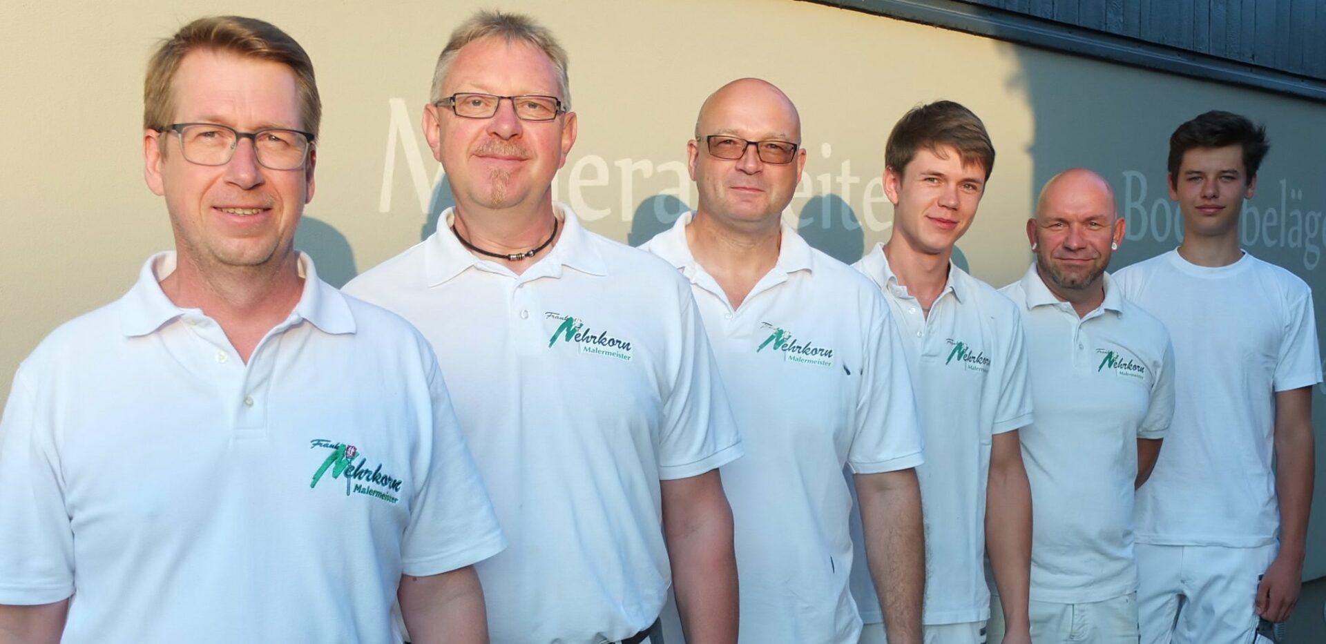 Das Team von Malermeister Nehrkorn